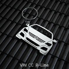 VW Passat CC R Line Keychain