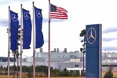 Plant One Entrance At Mercedes-Benz United States International In Tuscaloosa County(Vance), Alabama