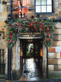 Christmas, Edinburgh, Scotland.