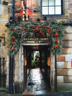 Christmas, Edinburgh