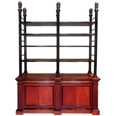 Vintage French Etagere Bookcase   From a unique collection of antique and modern bookcases at https://www.1stdibs.com/furniture/storage-case-pieces/bookcases/