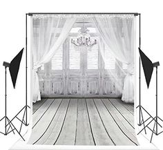 ft White Wedding Photo Backgrounds Curtain & Chandelier & Wood Floor Wrinkle free Photography Backdrops for Children Wedding Photo Background, Background Vintage, Background For Photography, Photography Backdrops, Wedding Photography, Free Photography, Photo Backdrops, Backdrop Background, Product Photography