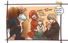 Okikagu comic - what okikagu's kids call Gintoki 4/4