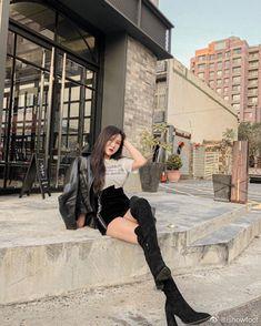 Beautiful Asian Women, Thigh High Boots, Thigh Highs, Asian Woman, Thighs, Pretty Asian, Tall Boots, Thigh, Knee High Socks