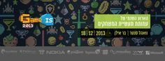 GameIS Conference 2013 - הכנס השנתי של תעשיית המשחקים הישראלית https://www.facebook.com/events/545689002174257