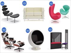 Swooning over the Eames chair!!
