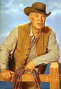 Wagons hoooo-ooooo!  Ward Bond in Wagon Train.