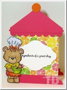 Treats for Someone Sweet! created by Frances Byrne using Sizzix Kitchen Canisters Die