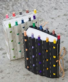 Pencil holding journal cover!