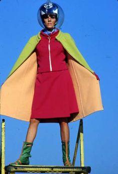 Braniff - Pucci designed uniform 1960's