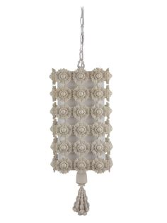 there's something so feminine and cool about this light fixture...i love funky little details and a monochromatic color scheme...