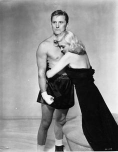 Kirk Douglas and Marilyn Maxwell