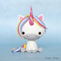 DIY Cute Unicorn Polymer Clay Step-by-Step Tutorial