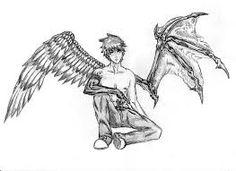Resultado de imagen de alas de demonio para dibujar