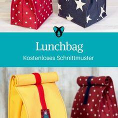 lunchbag nähen kostenloses schnittmuster brotzeittüte, brotzeitbag