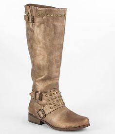 """Daytrip Studded Riding Boot"" www.buckle.com"