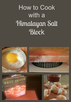Have you tried cooking with a Himalayan Salt Block? Try this natural, sustainable cookware! Many of us flavor our food with Himalayan salt, but have you tried cooking with it? Himalayan salt blocks offer one of the safest ways to cook your food! Himalayan Salt Block Cooking, Himalayan Salt Plate, Real Food Recipes, Cooking Recipes, Cooking Tips, Cooking Bacon, Cooking Games, Cooking Classes, Cooking Steak