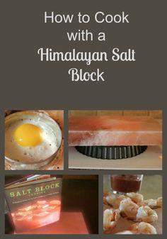 On cooking with a Himalayan Salt Block