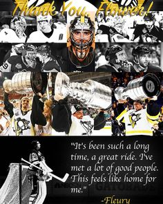 Thank You, Flower!! You will forever be a Penguin! Good Luck in Vegas!