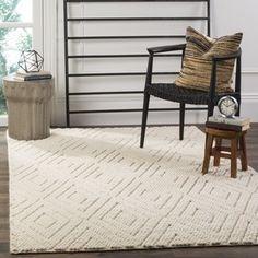 Safavieh Handmade Natura Southwestern Ivory Wool / Cotton Rug (8' x 10') - 19448573 - Overstock.com Shopping - Great Deals on Safavieh 7x9 - 10x14 Rugs