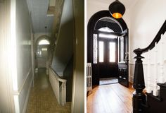 Before and After of the Chaplin Townhouse in Brooklyn remodeled by Elizabeth Roberts/Ensemble Architecture   Remodelista
