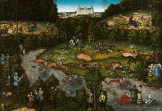 Lucas Cranach d.Ä., Hofjagd auf Hirsche und Bären, 1540, John L. Severance Fund, (c) The Cleveland Museum of Art