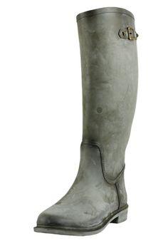 CIZME STRADIVARIUS GRI DIN CAUCIUC CU VARFUL ROTUND SI CATARAMA METALICA DECORATIVA Riding Boots, Metal, Shoes, Fashion, Horse Riding Boots, Moda, Zapatos, Shoes Outlet, Fashion Styles