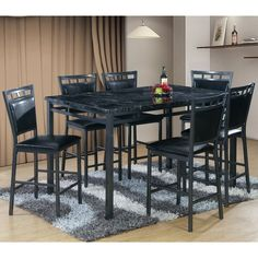 You'll love the 7 Piece Counter Height Dining Table Set at Wayfair - Great Deals on all Furniture products with Free Shipping on most stuff, even the big stuff.