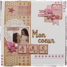Le Scrap de Mme Z: une page toute en Florilèges Design