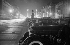 Berlin September 1937 Geschmueckte Unter den Linden