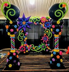 Balloon Frame, Balloon Backdrop, Balloon Columns, Balloon Garland, Dinner Party Decorations, Balloon Decorations Party, Columns Decor, Barbie Birthday Party, Prom Themes
