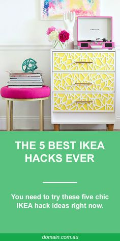 From elevated units to bespoke bedroom storage, here are some of the best IKEA hacks to inspire you. Latest Design Trends, Best Ikea, Moving House, Bedroom Storage, Decorating Tips, Home Projects, Home Improvement, Ikea Hacks, Bespoke