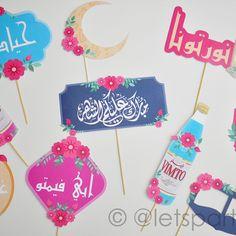 Ramadan Cards, Ramadan Gifts, Eid Crafts, Diy And Crafts, Crafts For Kids, Eid Boxes, Ramadan Activities, Ramadan Decorations, Happy Eid