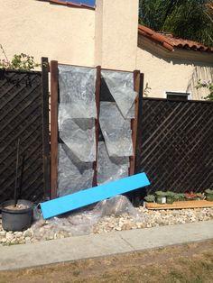 Vert garden weed barrier & plastic backing