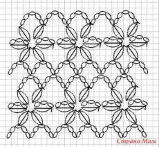 Captivating Crochet a Bodycon Dress Top Ideas. Dazzling Crochet a Bodycon Dress Top Ideas. Crochet Motifs, Crochet Diagram, Crochet Stitches Patterns, Crochet Chart, Crochet Doilies, Crochet Flowers, Stitch Patterns, Knitting Patterns, Crochet Simple
