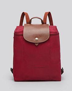 $125 Longchamp Backpack - Le Pliage | Bloomingdale's