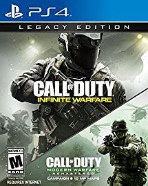 Amazon.com: Call of Duty: Infinite Warfare - PS4 Legacy Edition: PlayStation 4: Activision Inc: Video Games