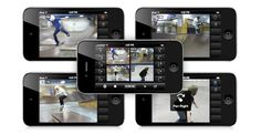Collabracam App - record and edit video using up to 4 different idevices.