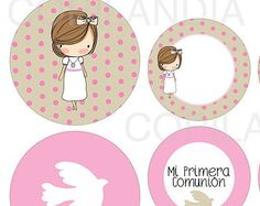 Kit Imprimible Primera Comunion Niña 2