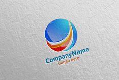 Digital Marketing Financial Logo by denayunebgt on @creativemarket