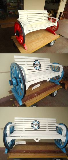 Lovely Pallet Bench Ideas