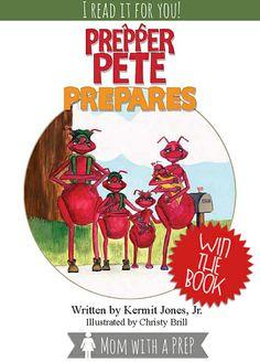 Prepper Pete Prepares - a Child's Book about Being Prepared | #prepbloggers #preparedness #books #kids