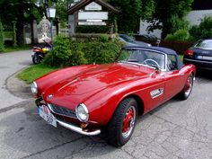 """BMW has long proclaimed that it builds the """"ultimate driving machine."""" Though you might debate that statement in general, the most expensive BMW cars certainly seem to live up to the hype. Hot Rods, Yellow Corvette, Bmw 507, Bavarian Motor Works, Corvette Convertible, Car Museum, Bmw Classic, Bmw Cars, Cars And Motorcycles"""