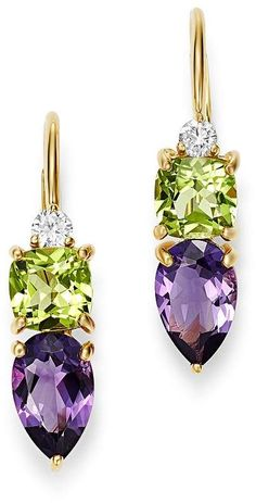 Diamond, Amethyst & Peridot Drop Earrings in Yellow Gold – Exclusive Bloomingdale Diamant-, Amethyst- & Peridot-Ohrringe aus 14 Karat Gelbgold – exklusiv Related posts: No related posts. Peridot Jewelry, Amethyst Earrings, Diamond Jewelry, Jewelry Rings, Jewelry Accessories, Drop Earrings, Diamond Earrings, Amethyst Crystal, Victorian Jewelry