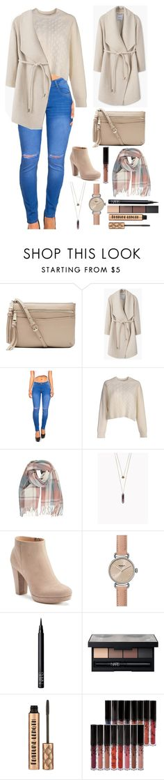 """""""Untitled #327"""" by cristiana-s ❤ liked on Polyvore featuring Witchery, MANGO, Machine, LC Lauren Conrad, Shinola and NARS Cosmetics"""