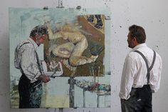 Norwegian artist Tor Arne Moen's tribute to Lucian Freud
