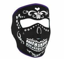 Muerte Neoprene Face Mask - face masks and biker masks from Iron Horse Motorcycle Helmets. Harley Gear, Harley Bikes, Harley Davidson Bikes, Bike Face Mask, Motorcycle Face Mask, Face Masks, Motorcycle Gear, Women Motorcycle, Lady Biker