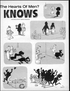 The Shadow Knows! 02 Sergio Aragones showing how simple it is to make us laugh - MAD Magazine 1960's