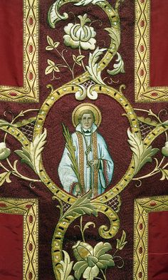 NEG021-07  Chasuble  Dutch  Attributed to M. Kluijtmans, 's-Hertogenbosch  Date: c. 1870-1890