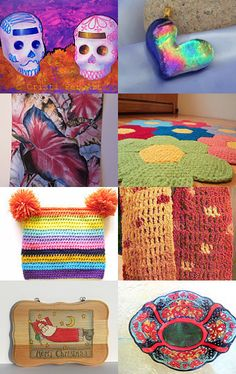 Falling For Color -- by CreationsByJanetUSA.etsy.com